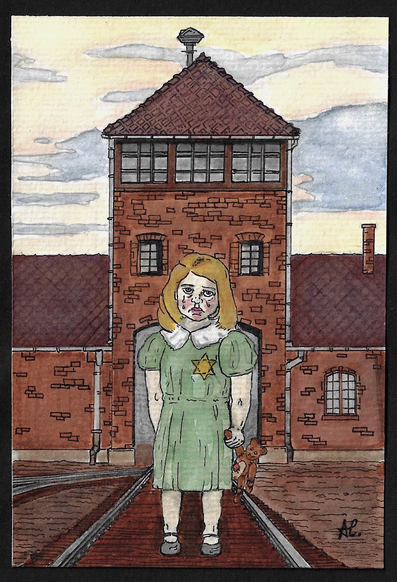 Illustration : dessin réalisé par Antoine Lange ECS1A